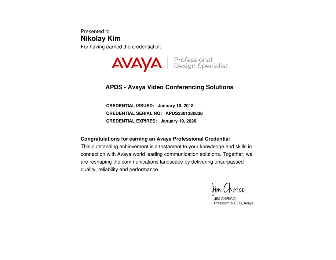 APDS AVAYA Video Conferencing Solutions